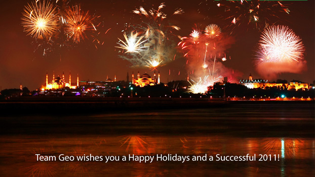 Team Geo wishes you a Happy Holidays and a Successful 2011